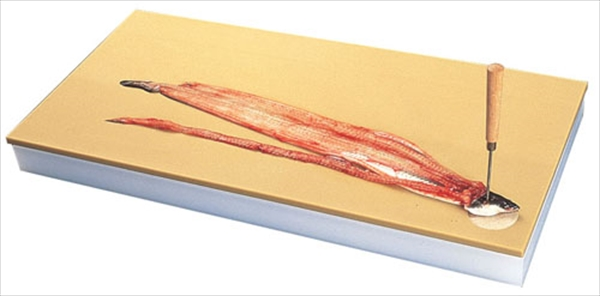 直送品■天領まな板 鮮魚専用プラスチックまな板 9号 AMN11009 [7-0344-0611]