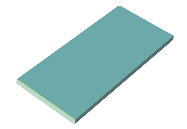 天領まな板 瀬戸内一枚物カラーまな板ブルー K11B 1200×600×H20 6-0332-0627 AMNH327