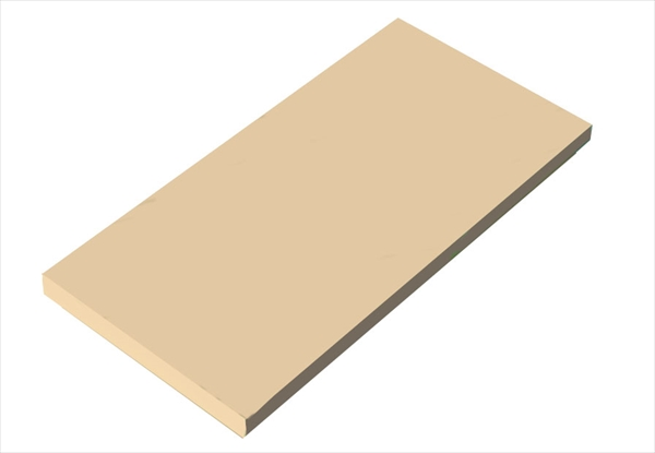 天領まな板 瀬戸内一枚物カラーまな板ベージュ K14 1500×600×H30 6-0332-0734 AMNH434