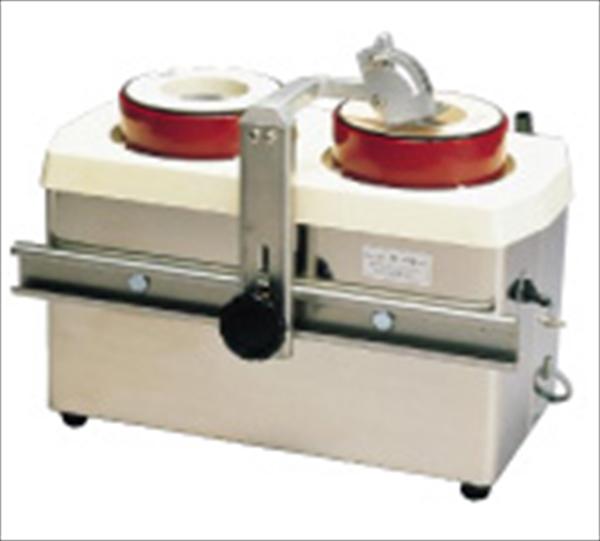 ホーヨー 水流循環式 電動刃物研機 ツインシャープナーMSE2W型 No.6-0320-0901 AHM01