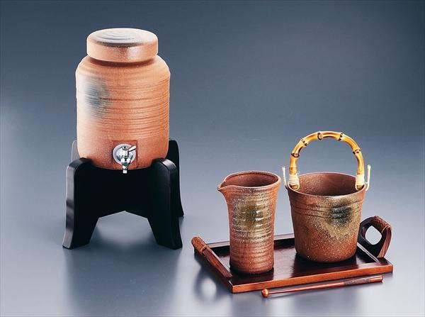 エムズジャパン ビードロ吹焼酎セット Y-043 サーバー 6-1707-0101 RMJ2001
