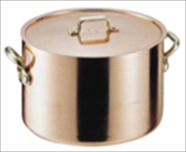 遠藤商事 SAエトール銅 半寸胴鍋 15 6-0039-0201 AHV05015