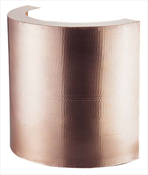 丸新銅器 銅製 天ぷら鍋ガード(槌目入り) 39cm BTV7201 [7-0405-1301]
