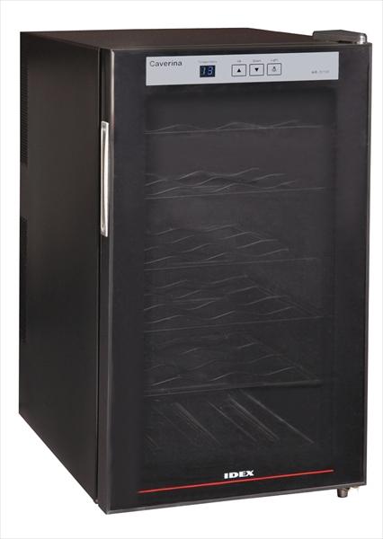 IDEX ワインセラー カヴリナ(18本用) WR-5018B(ブラック) 6-0748-0401 EWI2701