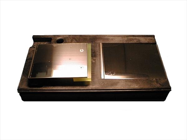 ドリマックス 電動1000切りロボ用 スライス盤 0.3~2.5厚さ調節付 No.6-0587-0209 CSV01006