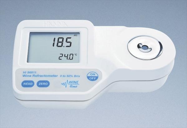ハンナ ハンナポータブル型 デジタル糖度計 HI96811 6-0564-0401 BTU1801