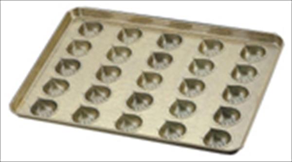 千代田金属工業 シリコン加工 マロンケーキ型天板 (25ヶ取) 6-0986-1201 WTV41