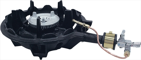 ハイカロリーコンロ 一重型 MDX-108P P付 LPG DBC5503 [7-0676-0803]