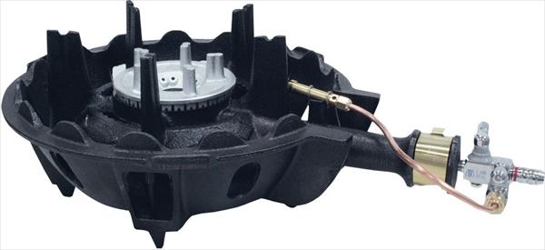 アサヒサンレッド ハイカロリーコンロ 一重型 MDX-148P P付 LPG 6-0640-0903 DBC5603