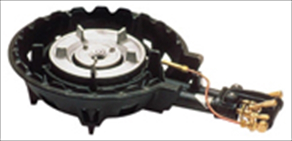 アサヒサンレッド ハイカロリーコンロ 二重型MD-208P (P付) LPガス 6-0640-1001 DBC1501