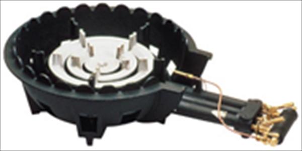 ハイカロリーコンロ 三重型MD-308P (P付)    LPガス DBC1601 [7-0676-1101]