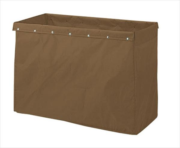 山崎産業 リサイクル用システムカート専用収納袋 360L ブラウン No.6-1240-0201 KKC2901