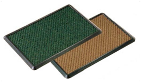 山崎産業 消毒マットセット 900×1200 茶 6-1300-0504 KMT2302