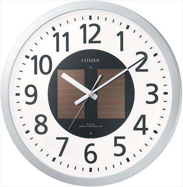 リズム時計工業 シチズン ソーラー電波時計 4MY815-019 6-2372-0101 ZKL6601