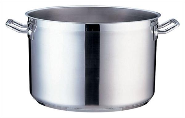 遠藤商事 TKG PRO(プロ)半寸胴鍋(蓋無) 34cm 6-0009-0208 AHV6434