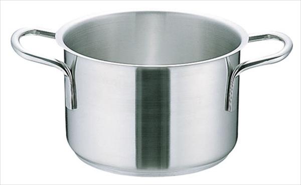 遠藤商事 ムラノ インダクション18-8半寸胴鍋 (蓋無)36 6-0005-0206 AHVA306
