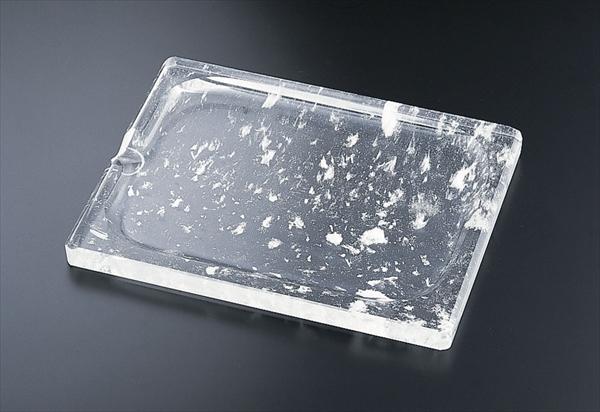 TKGコーポレーション 水晶 長方形 角型焼肉プレート TY-E-009 6-1962-0201 QSI5601
