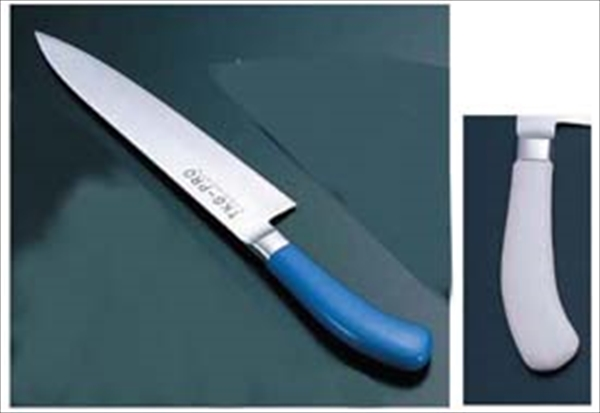遠藤商事 TKG PRO 抗菌カラー 牛刀 24 ホワイト 6-0308-0513 ATK4313