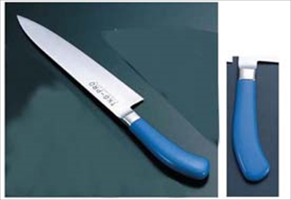 遠藤商事 TKG PRO 抗菌カラー 牛刀 24 ブルー 6-0308-0516 ATK4316