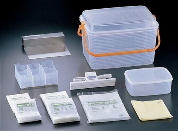 直送品■ハッコー機器コーポレーション 密封式検食袋基本セット HXS-010  AKVH601 [7-0207-1401]