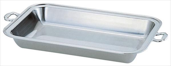 三宝産業 UK18-8バロン角チェーフィング用 フードパン深型 16インチ No.6-1446-0301 NTEB916
