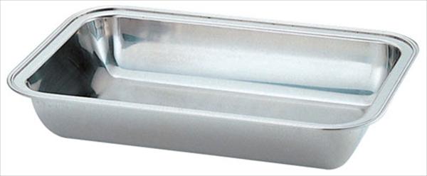 三宝産業 UK18-8バロン角チェーフィング用 ウォーターパン 22インチ 6-1446-0503 NTEC122