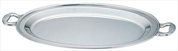 三宝産業 UK18-8バロン小判チェーフィング用 フードパン浅型 18インチ 6-1446-0902 NTEC418