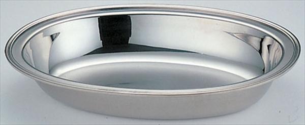 三宝産業 UK18-8バロン小判チェーフィング用 ウォーターパン 18インチ 6-1446-1102 NTEC718