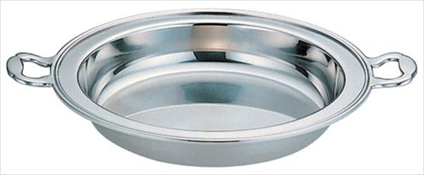 三宝産業 UK18-8バロン丸チェーフィング用 フードパン深型13インチ 6-1446-1602 NTED013