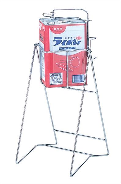 直送品■アイクリエート スチール缶スタンド 角缶用 KC-01 BKV7101 [7-1276-1001]