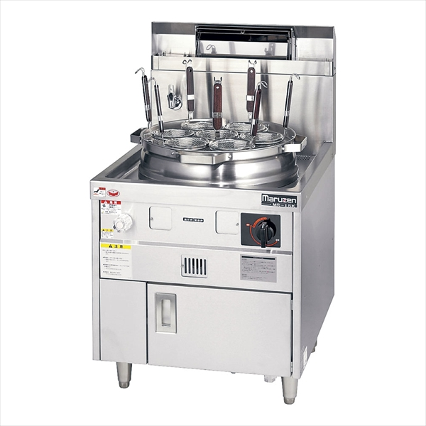 マルゼン ゆで麺機 はやわき MR-15M LPガス No.6-0663-0301 AYD011