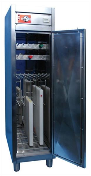 エイシン電機 熱風式スリム型庖丁まな板殺菌庫 HESD-350 6-0355-0101 ASTH601