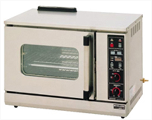 マルゼン ガス式コンベクションオーブン(卓上型) MCO-6TE 都市ガス No.6-0631-0102 DOC1102