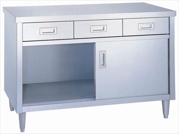 シンコー シンコー ED型 調理台 片面 ED-12060 No.6-0715-0210 DTY0710