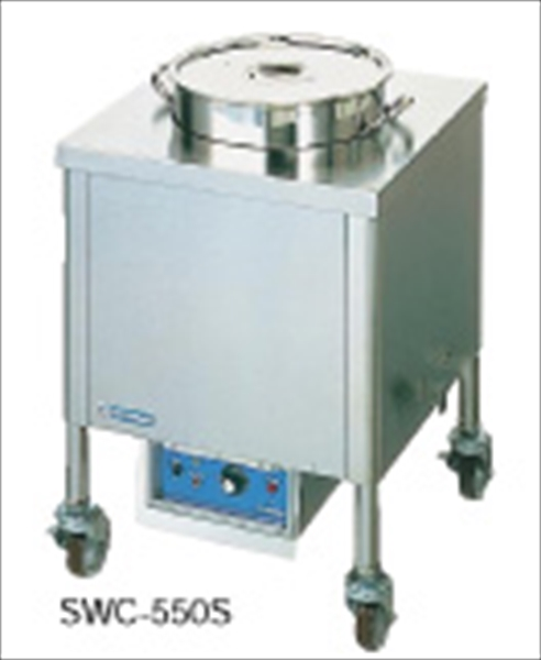 ニチワ電機 電気スープウォーマーカート(角型) SWC-550S (200V) No.6-0730-0904 ESC02255