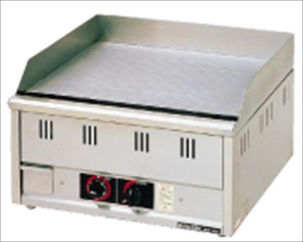 マルゼン ガス式グリドル MGG-066TB (サーモスタット付) 都市ガス No.6-0896-0102 GGL122