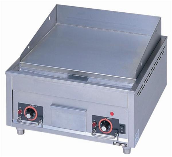 マルゼン 電気グリドル MEG-066  6-0894-0201 GGL4801