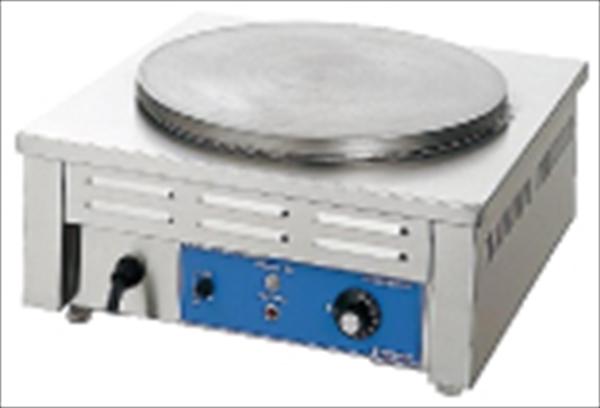ニチワ電機 電気式クレープ焼器 (2連)CM-410HW No.6-0864-0304 GKL01412