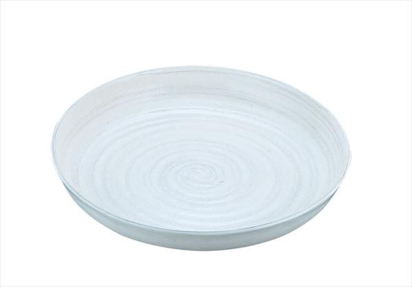 遠藤商事 アルミ電磁用ドラ鉢 白刷毛目 尺2 6-1501-1702 NDL0302