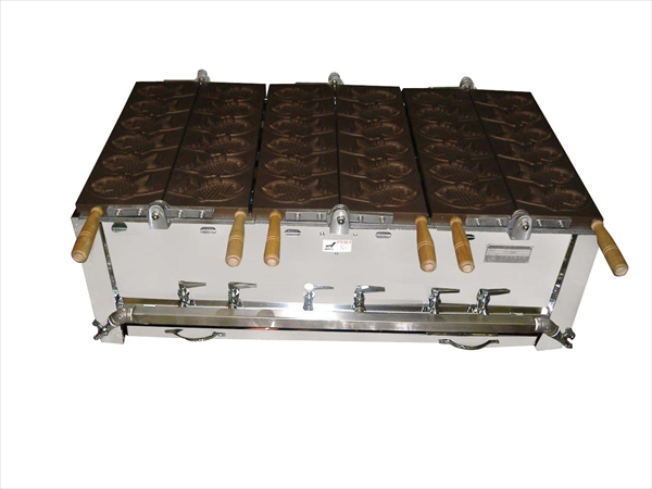 猪狩製作所 鯛焼器 EGT-2 都市ガス 6-0884-0202 GTI012