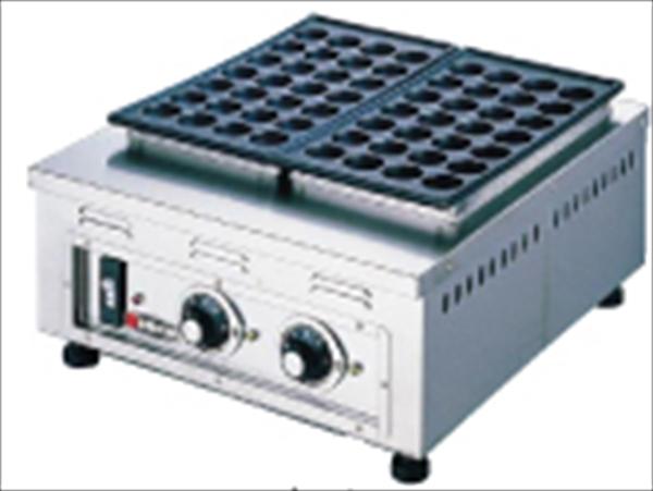 エイシン電機 電気式たこ焼器(ころがし式) TG-2 (2連式56個焼) 6-0878-0401 GTK02002
