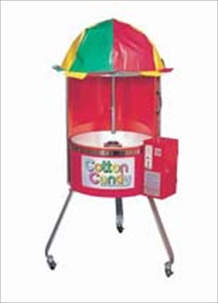 朝日産業 綿菓子自動販売機 CA-6型 (100円用) 6-0857-0801 GWT0801