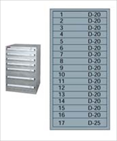 ムラテックKDS シルバーキャビネット SLC-3458  No.6-0719-0801 HSL23