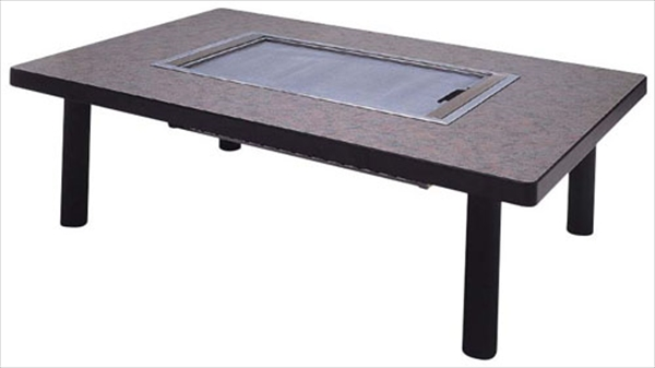 千田 和卓 鉄板焼 テーブル・ユニットセット SND-128LM LPガス 6-2299-0303 GTT2703