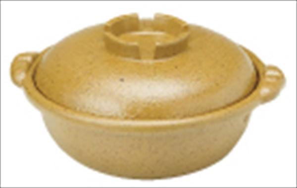 遠藤商事 アルミ合金 黄瀬戸土鍋風鍋 24  6-1929-0901 QDN08024
