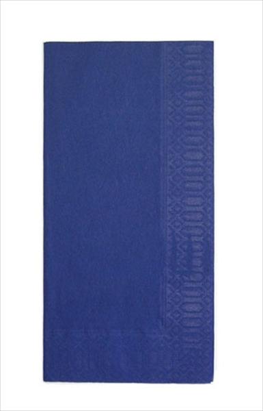 HARADA カラーナプキン 8ッ折(2,000枚入) 45 2P ディープブルー 6-1402-1006 PNP0507