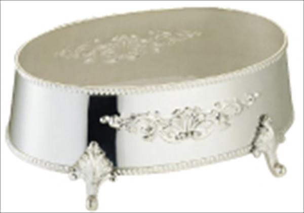早川器物 洋白3.8μ 小判皿飾台 20インチ用 6-1567-0604 TKB05020
