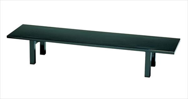 龍門堂 宴会机 黒乾漆調メラミンTS46-08K 1500×600×H320 6-2286-0607 UEV04007