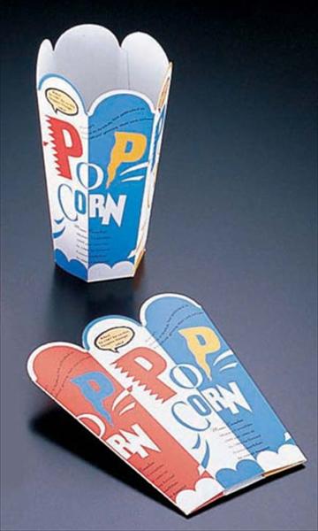 遠藤商事 新作販売 TKG ポップコーンカップ ワンタッチ型 売り込み XPT2501 50入 7-0916-1301
