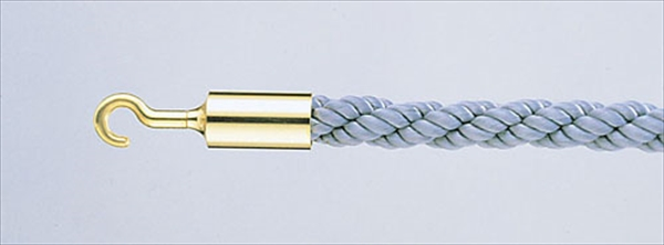 大和金属製作所 パーティションロープ Aタイプ 30B グレー No.6-2324-1601 ZPC46